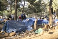El asentamiento de migrantes subsaharianos en Marruecos, cercano a la valla de Melilla. Este corresponde a los malienses. Mas de 1000 personas viviendo en condiciones muy precarias.